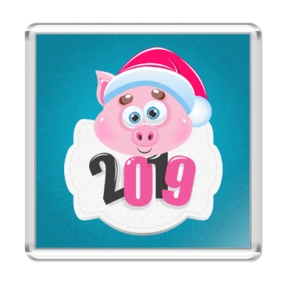 Магнит Год 2019 Свиньи
