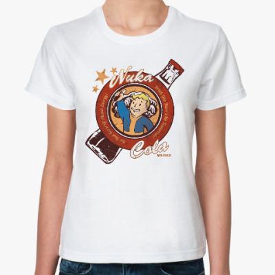 Классическая футболка Fallout Nuka Cola Vault Boy