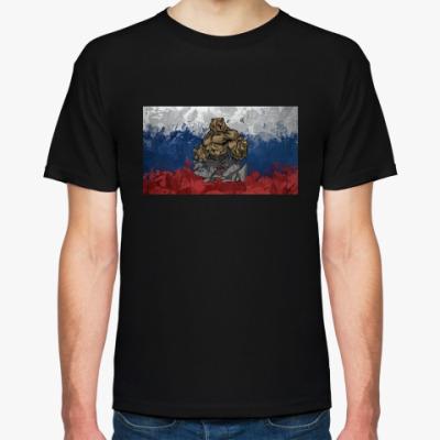 Футболка Боевой патриотический медведь