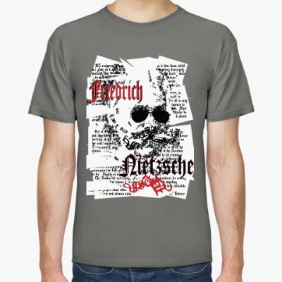 Футболка Философ Фридрих Ницше в очках