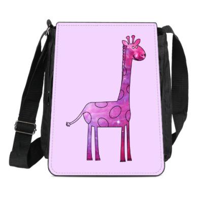Сумка-планшет Космический Жираф