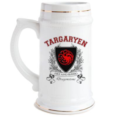 Пивная кружка House Targaryen