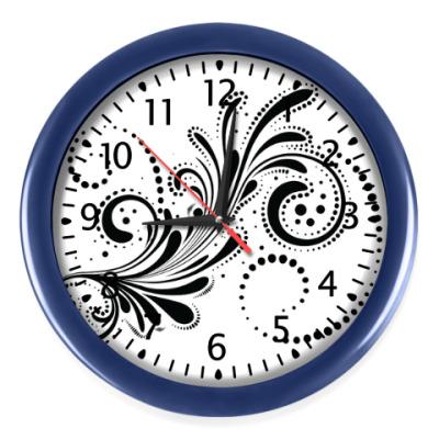 Настенные часы Завиток
