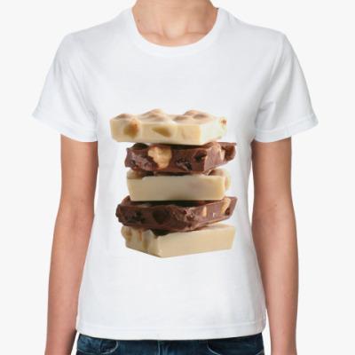 Классическая футболка  Шоколад
