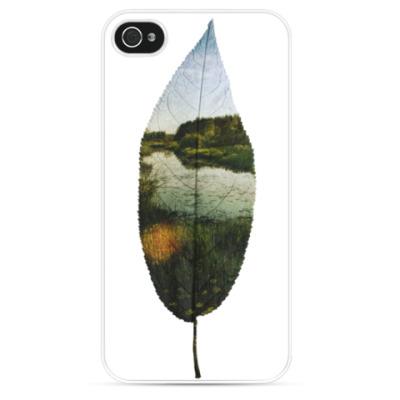 Чехол для iPhone Листовой пруд