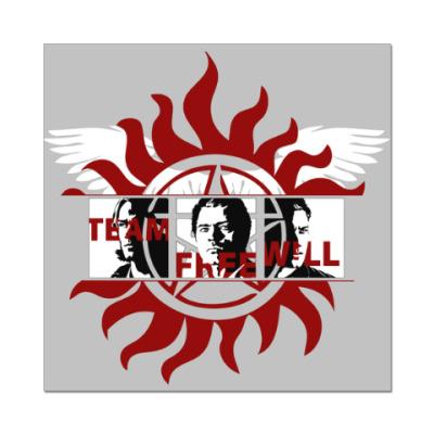 Наклейка (стикер) Команда Свободной Воли
