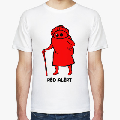 Футболка Бабушка 'Red alert'