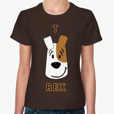 Женская футболка Т-Рекс