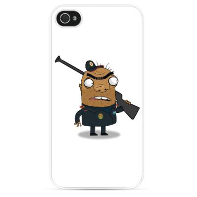 Чехол для iPhone Шамиль-охранник