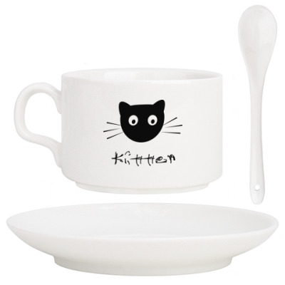 Кофейный набор Кошка