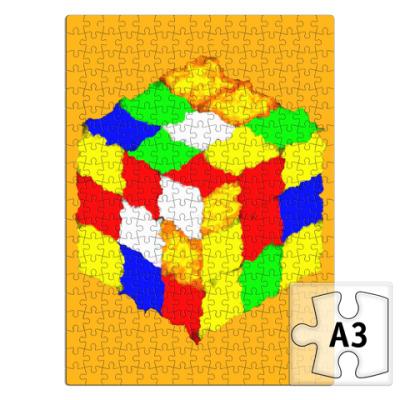 Пазл Кубик Рубика