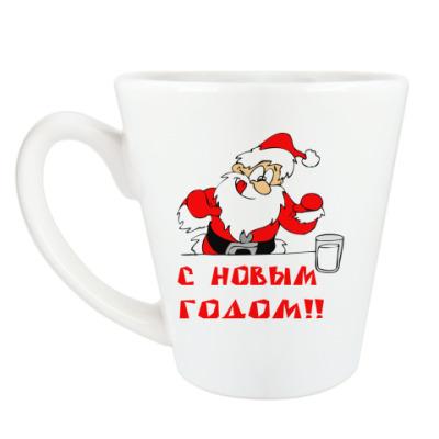 Чашка Латте С Новый годом!
