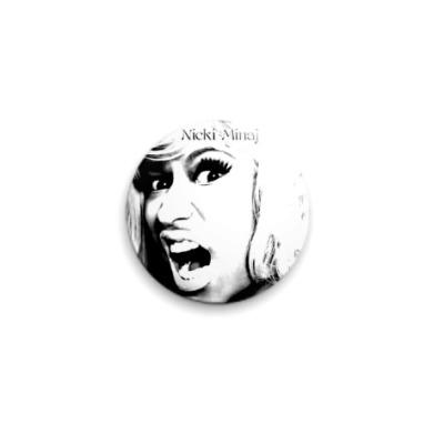 Значок 25мм Nicki Minaj