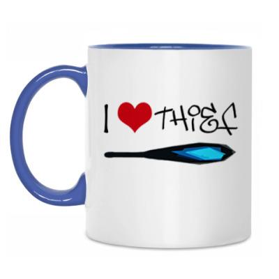 Кружка I love Thief