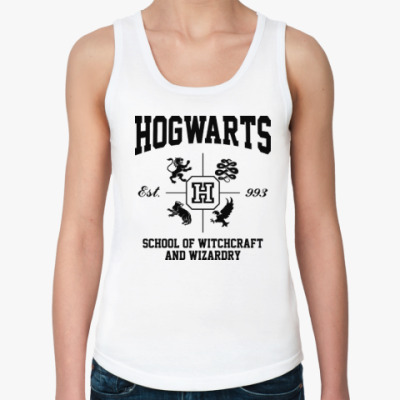 Женская майка Hogwarts