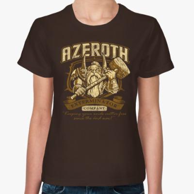 Женская футболка World of Warcraft. Азерот