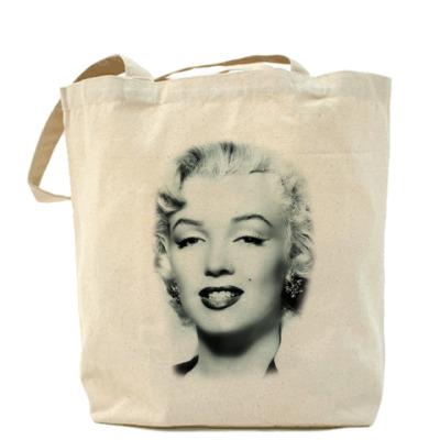 Сумка Холщовая сумка Мэрилин Монро