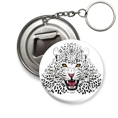 Брелок-открывашка Леопард