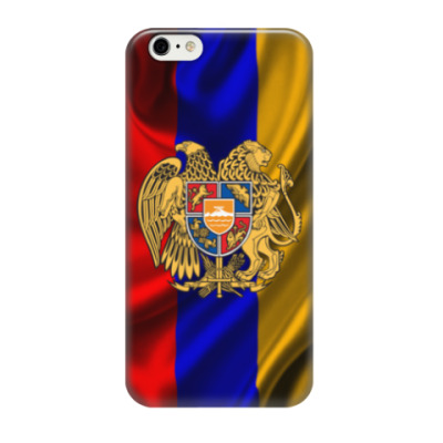 Чехол для iPhone 6/6s Флаг и герб Армении