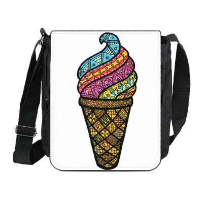 Сумка на плечо (мини-планшет) Мороженка