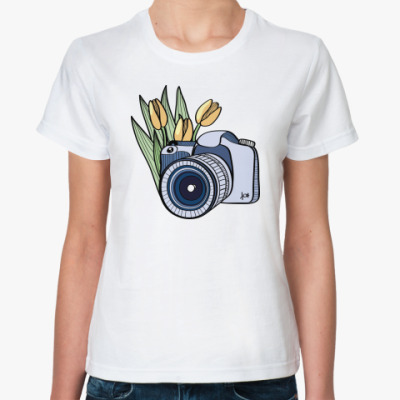 Классическая футболка Фото-флора