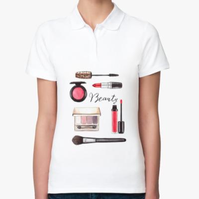 Женская рубашка поло Beauty
