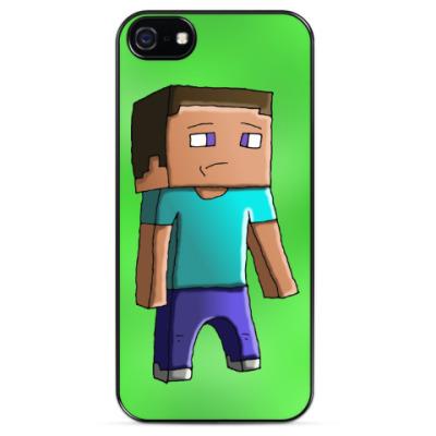Чехол для iPhone Minecraft Steve