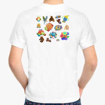 Детская футболка Детские игрушки