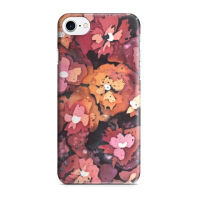 Чехол для iPhone 7/8 Яркие цветы