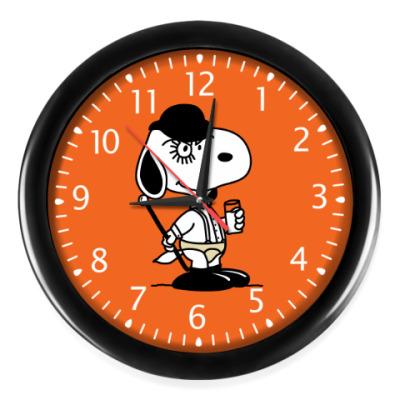 Настенные часы Snoopy Clockwork Orange