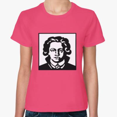 Женская футболка Гёте