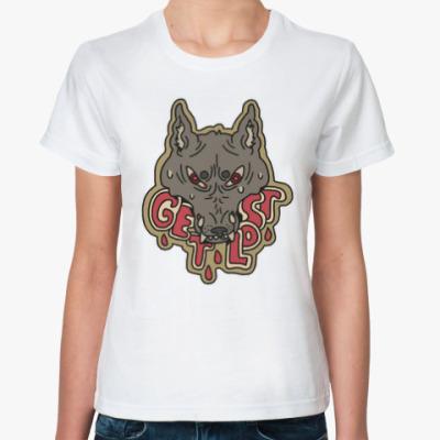 Классическая футболка Get Lost