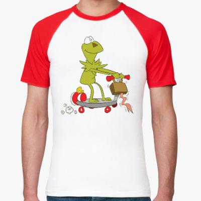 Футболка реглан Kermit the Frog