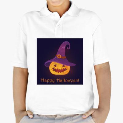 Детская рубашка поло Halloween