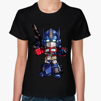Женская футболка Optimus Prime