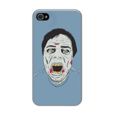 Чехол для iPhone 4/4s Зомби