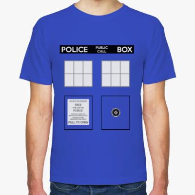 Футболка TARDIS Doctor Who