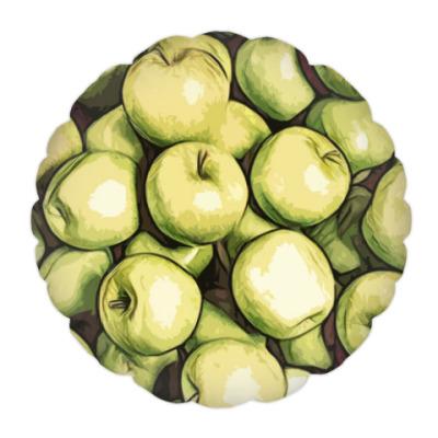 Подушка яблоки