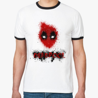 Футболка Ringer-T Deadpool