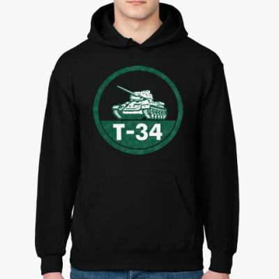 Толстовка худи Танк Т-34