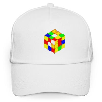 Кепка бейсболка Кубик Рубика