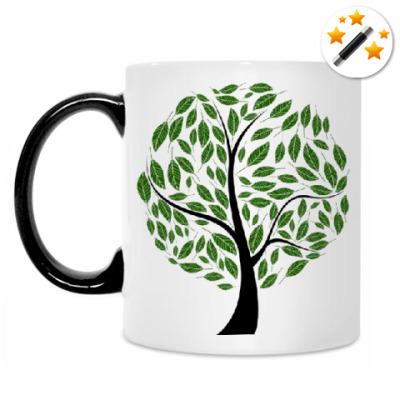 Кружка-хамелеон Большое дерево