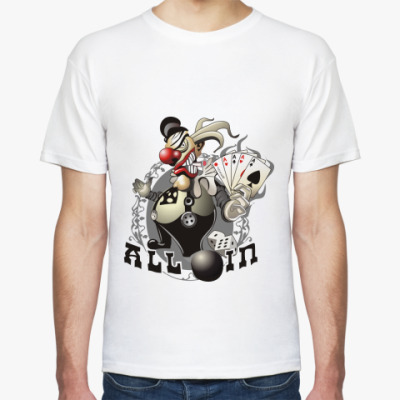 Футболка  'Evil clown'