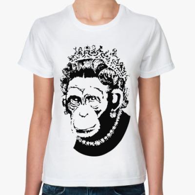 Классическая футболка ' Королева обезьян'