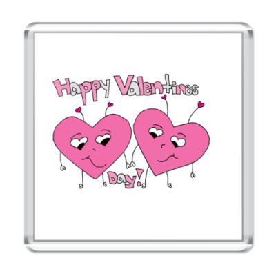Магнит Valentines Day
