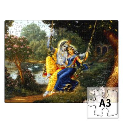 Пазл Кришна и Радха