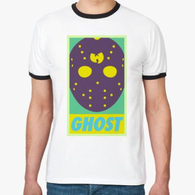Футболка Ringer-T  Ghost Wu tang