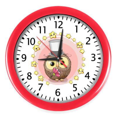 Настенные часы Сова