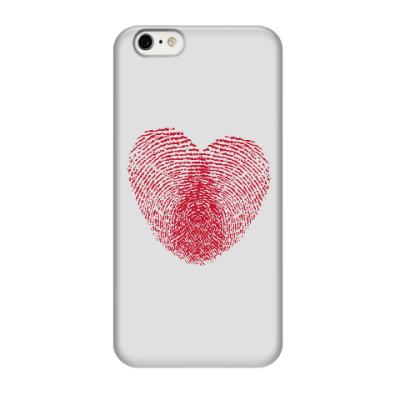 Чехол для iPhone 6/6s Отпечатки Любви