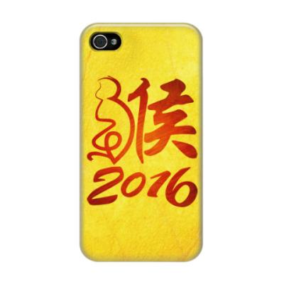 Чехол для iPhone 4/4s Год Огненной Обезьяны 2016